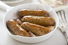 Würstchen aus Mycoprotein als Fleischersatz